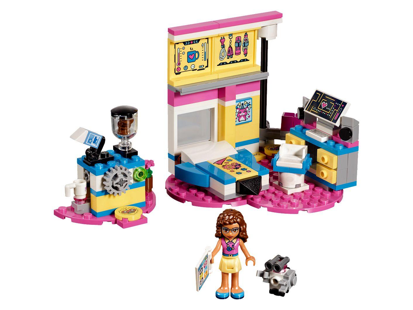 Olivias Deluxe Bedroom 41329 Friends Lego Shop