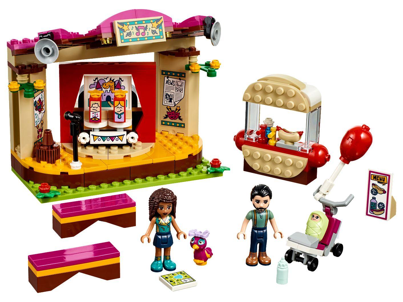 Andrea A Jej Vystúpenie V Parku 41334 Friends Lego Shop