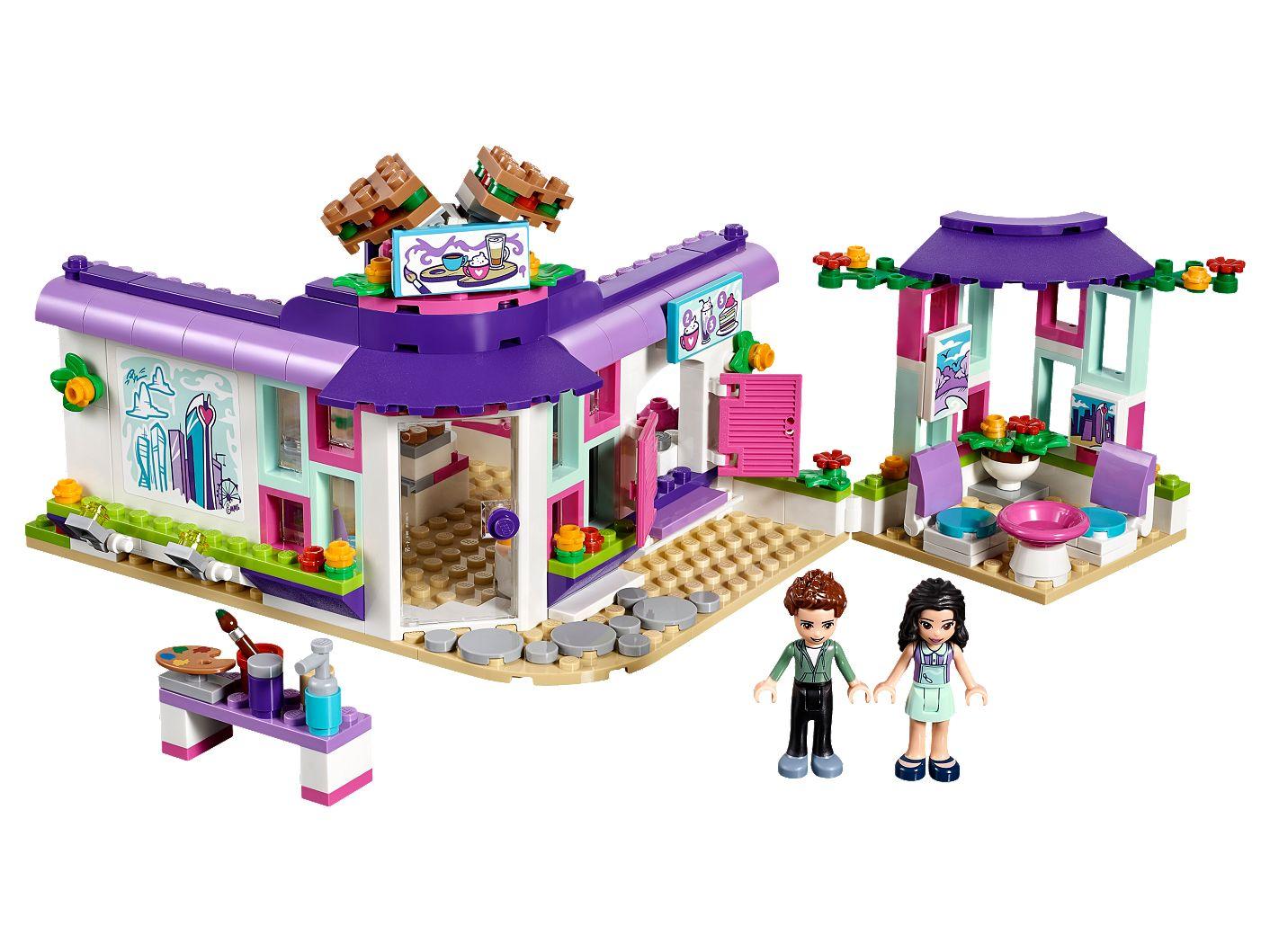 Populære Emma's Art Café 41336   Friends   Buy online at the Official LEGO IE-69
