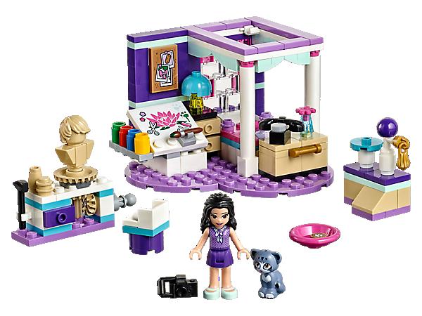 Užij si den plný tvořivosti v Emině pokojíku s postelí, plátnem s barvami, otáčecím keramickým kolem a speciálním podstavcem pro kocoura Chica.