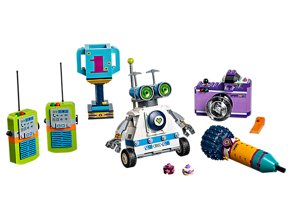 Build and play with 5 life-sized LEGO® Friends accessories—you'll feel like you've shrunk down into Heartlake City itself!