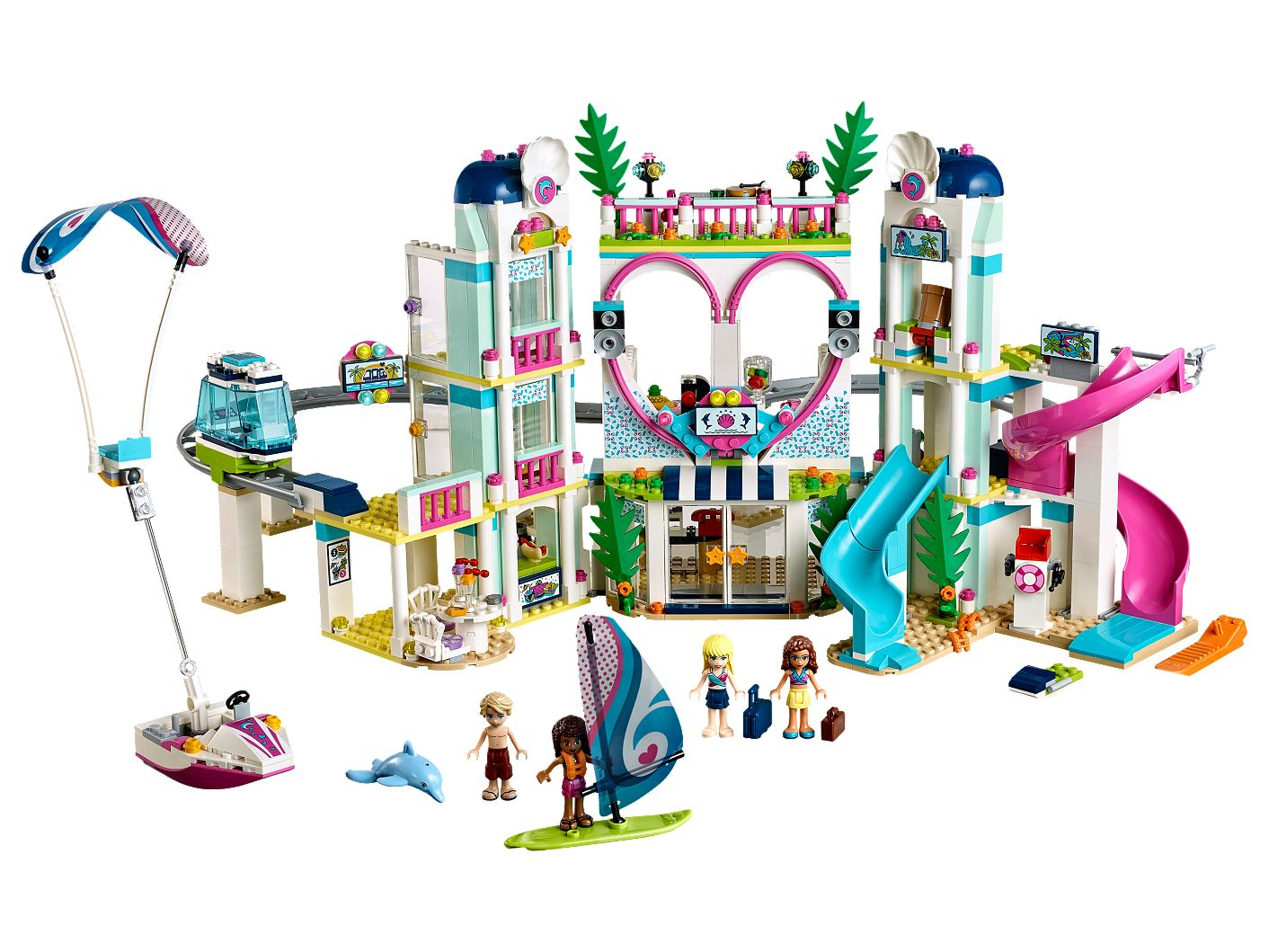 Heartlake City Resort 41347 | Friends | Buy online at the Official LEGO® Shop US