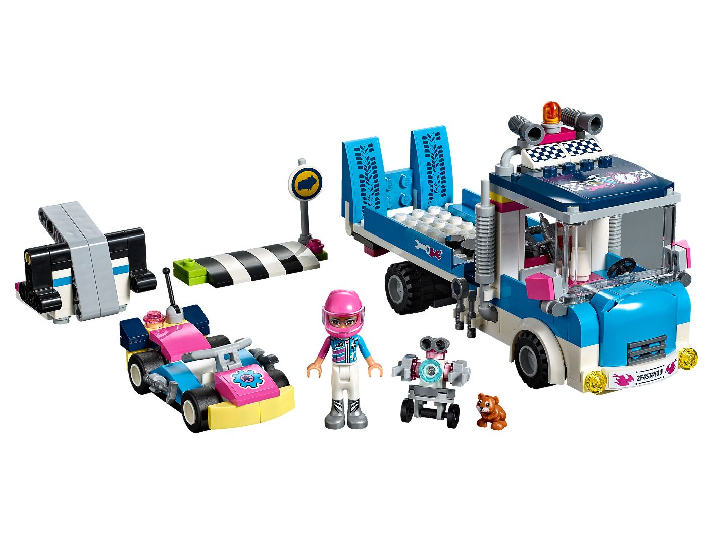 Service Care Truck 41348 Friends Lego Shop