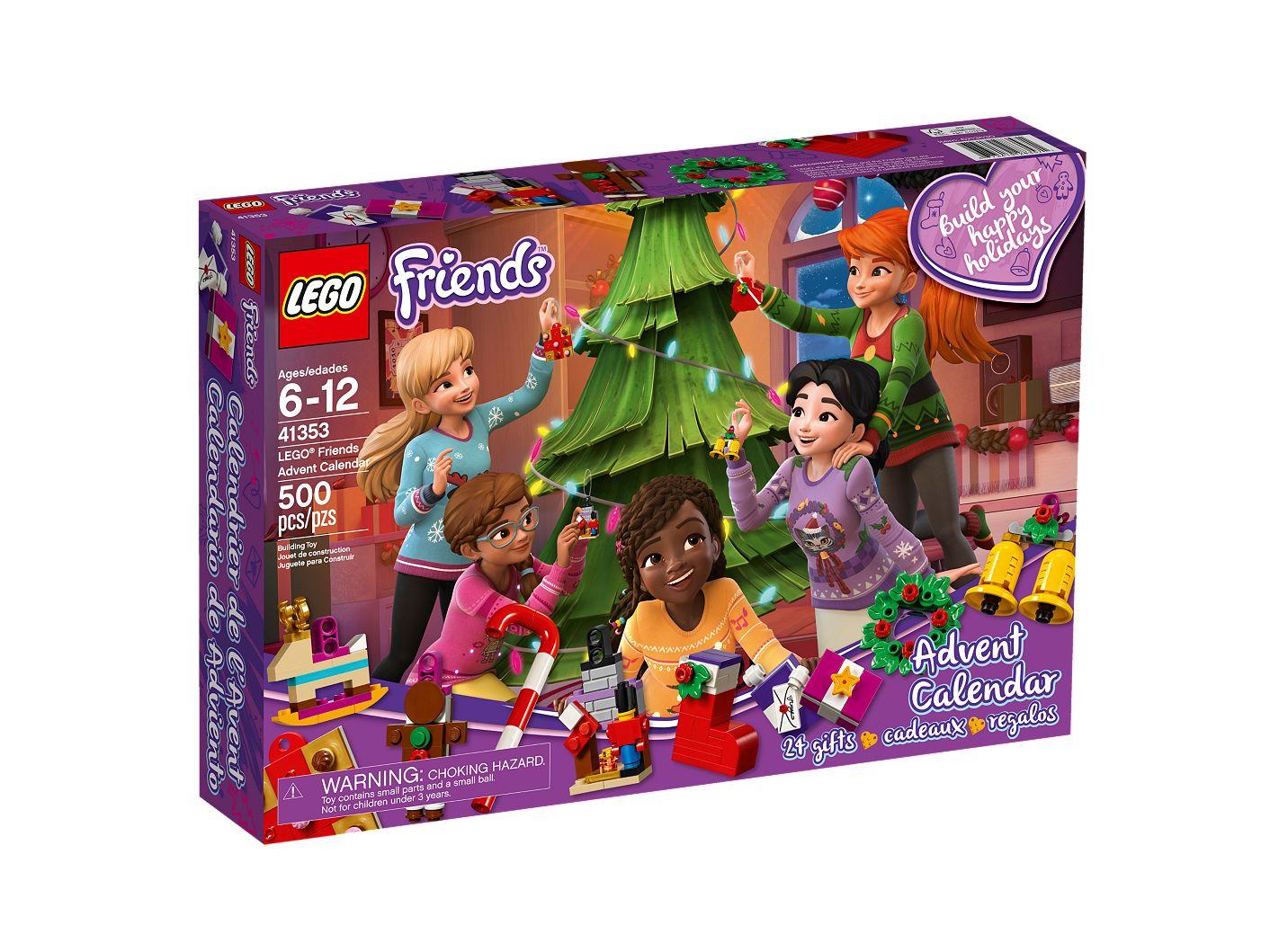 Calendrier Lego Friends 2019.Lego Friends Advent Calendar 41353 Friends Buy Online At The Official Lego Shop Nz