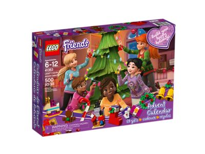picture regarding Legend of the Christmas Spider Printable identify LEGO® Mates Arrival Calendar