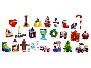 LEGO® Friends Adventskalender mit Weihnachtsschmuck