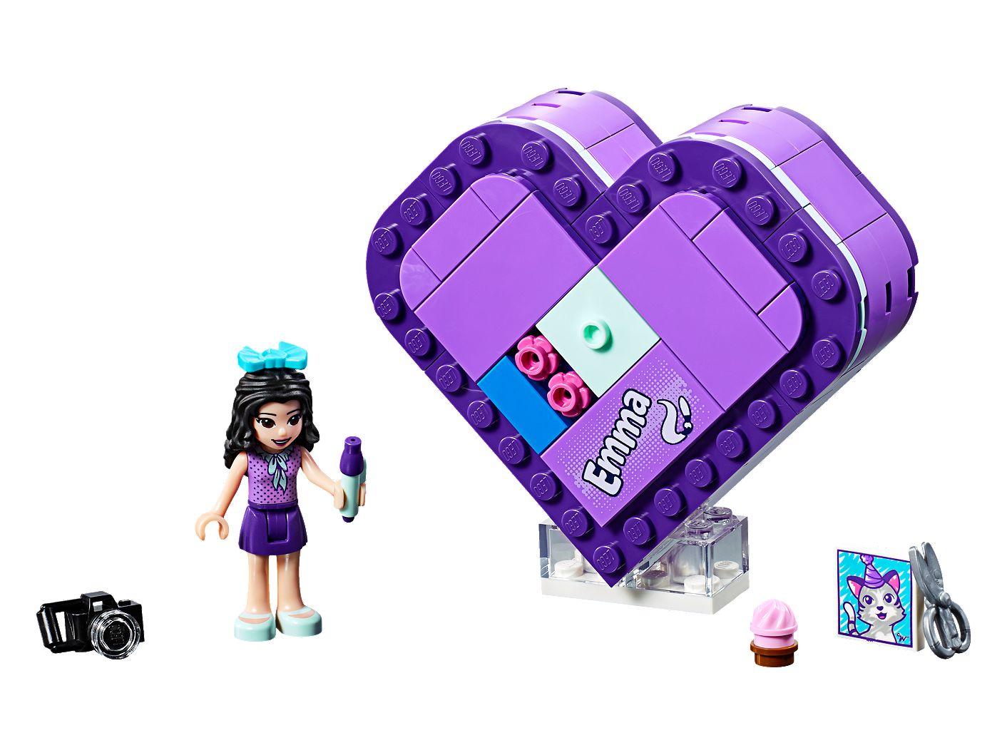 lego friends cuore  Scatola del cuore di Emma - 41355   Friends   LEGO Shop