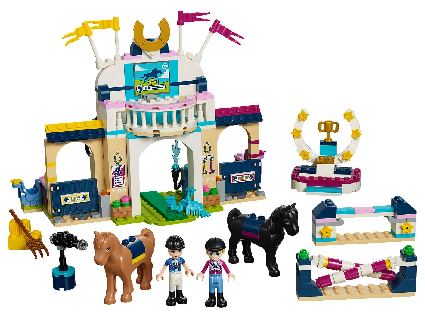 Stephanie S Horse Jumping 41367 Friends Lego Shop
