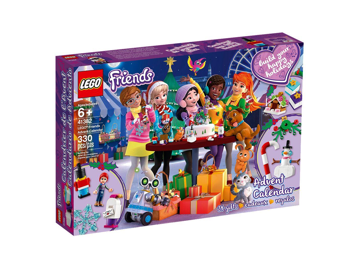 Calendrier De L Avent Lego City 2020.Le Calendrier De L Avent Lego Friends 41382 Friends Boutique Lego Officielle Fr