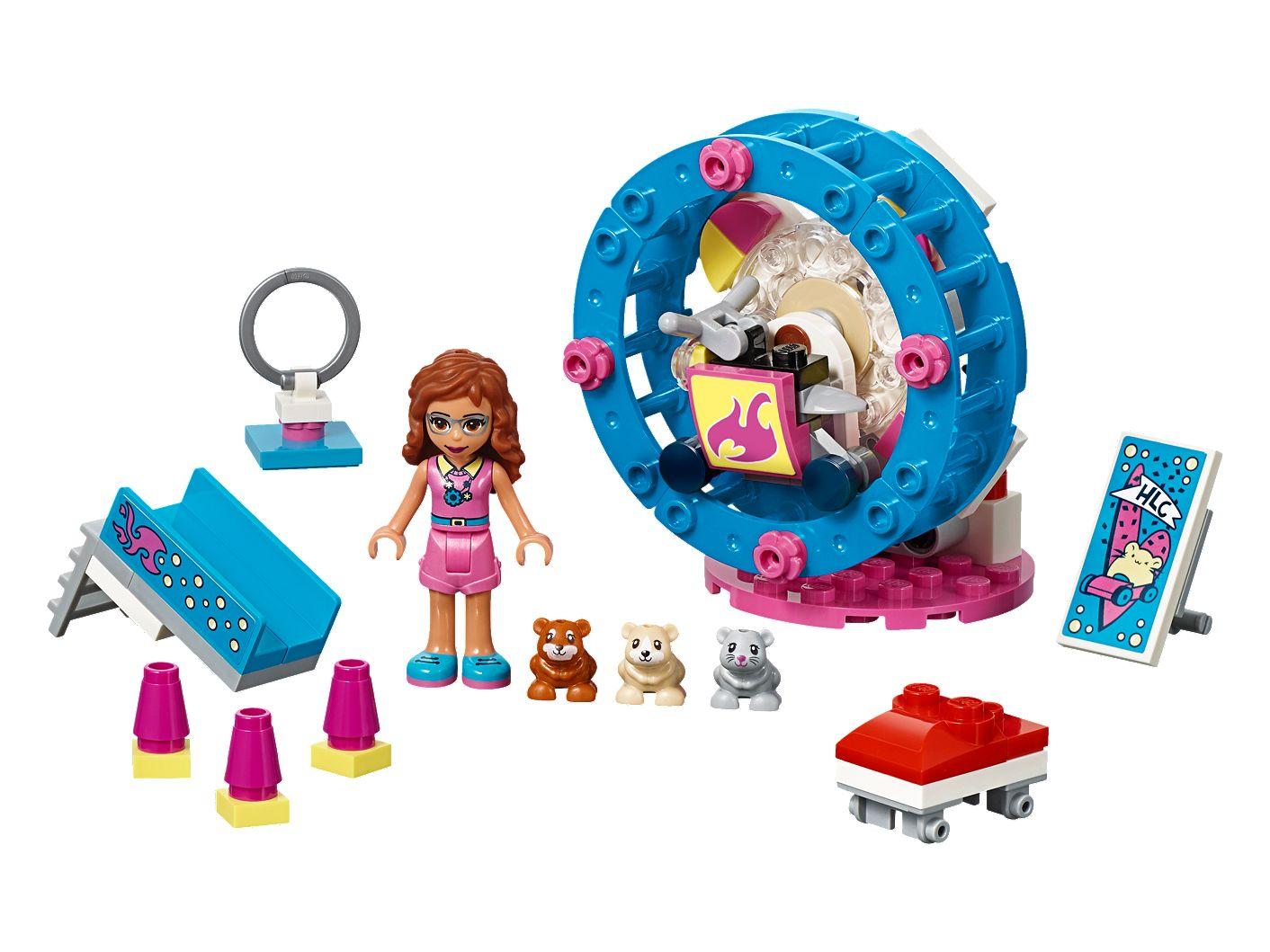 Wspaniały Plac zabaw dla chomików Olivii - 41383 | Friends | LEGO Shop PY83