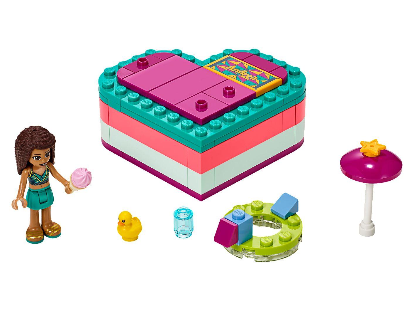 41388 LEGO® Friends 41388 Mias sommerliche Herzbox