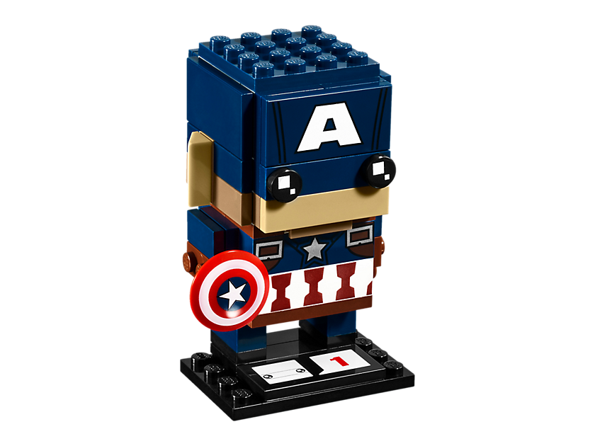 Geeky Mother's Day Gifts: Captain America BrickHeadz
