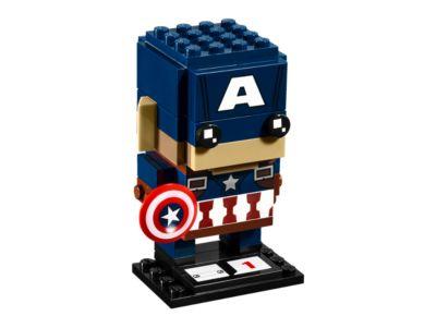 Captain America - 41589 | BrickHeadz | LEGO Shop
