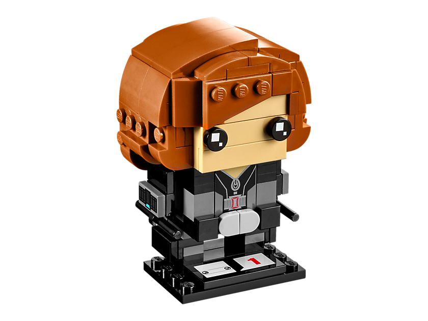 Geeky Mother's Day Gifts: LEGO Brick Headz Black Widow
