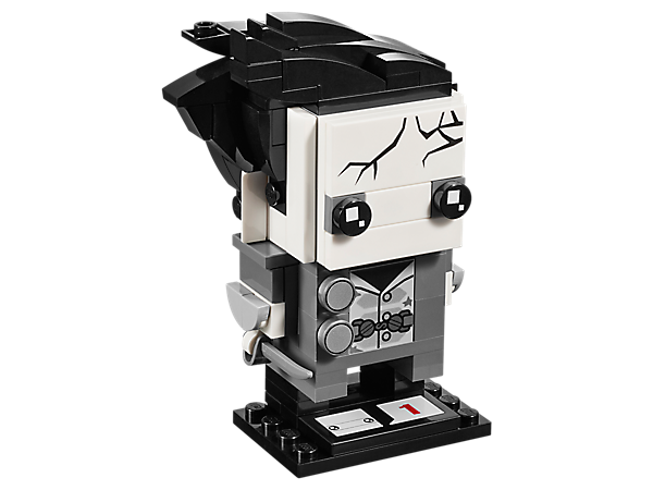 Build Captain Armando Salazar, as seen in Disney Pirates of the Caribbean: Dead Men Tell No Tales, with this LEGO® BrickHeadz construction character featuring buildable hair, cutlass and a baseplate.