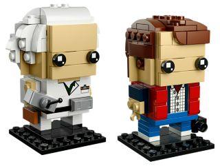 Marty McFly und Doc Brown