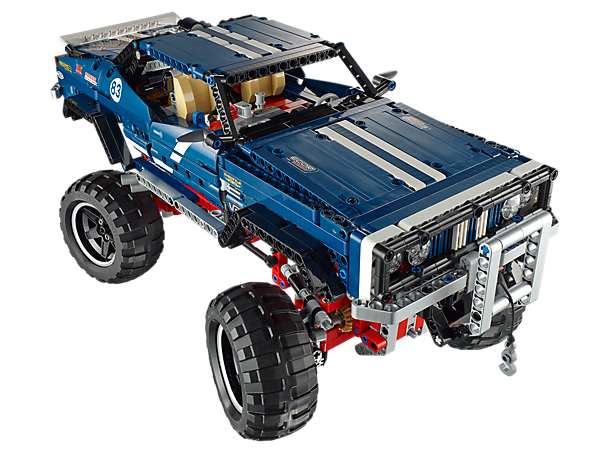 This 4x4 Crawler Exclusive Edition has all the challenges of a LEGO® Technic model, as well as unique bodywork and ultra-cool styling!