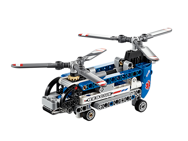 Explore product details and fan reviews for buildable toy Twin-rotor Helicopter 42020 from Technic. Buy today with The Official LEGO® Shop Guarantee.