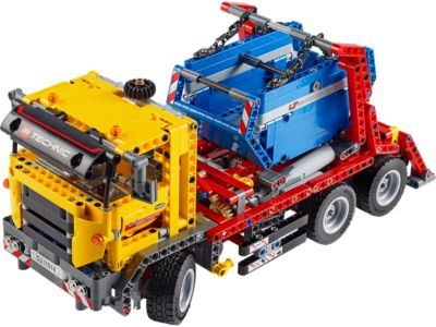 Explore product details and fan reviews for Container Truck 42024 from Technic. Buy today with The Official LEGO® Shop Guarantee.