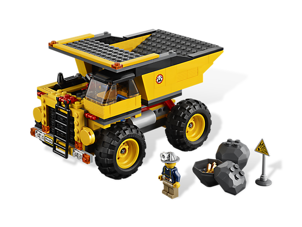 Dig in to a building adventure when you take the Mining Truck on a search for gold with all-terrain wheels, dynamite and big rocks to blast!