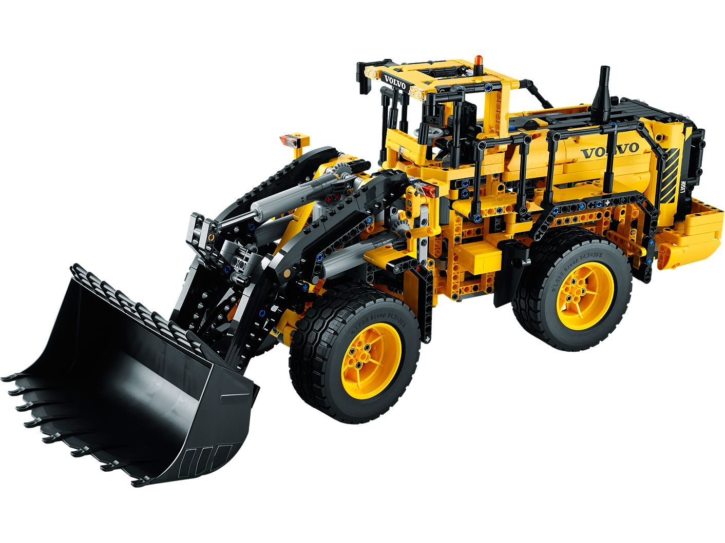 Remote-Controlled VOLVO L350F Wheel Loader 42030 | Technic™ | Buy online at  the Official LEGO® Shop US