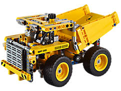 Le camion de la mine