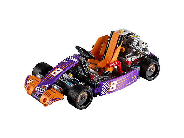 Explore product details and fan reviews for Race Kart 42048 from Technic. Buy today with The Official LEGO® Shop Guarantee.