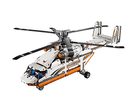 how to build a lego helicopter