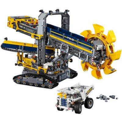Bucket Wheel Excavator 42055 | Technic™ | Buy online at the Official LEGO®  Shop US