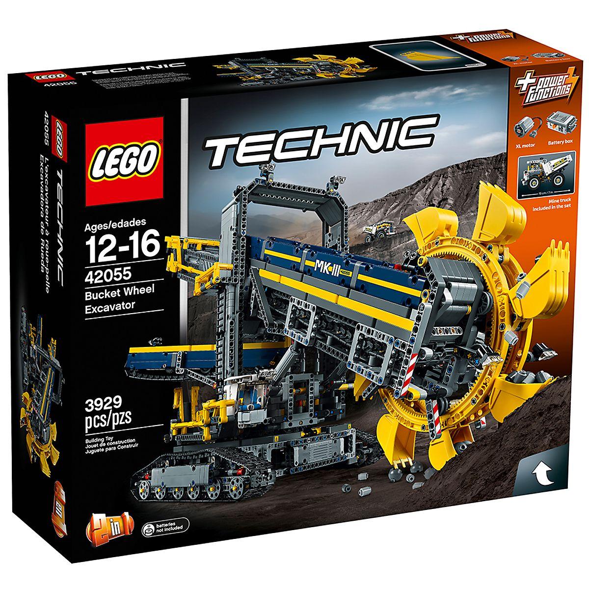 Bucket Wheel Excavator 42055 | Technic™ | Buy online at the Official LEGO®  Shop US