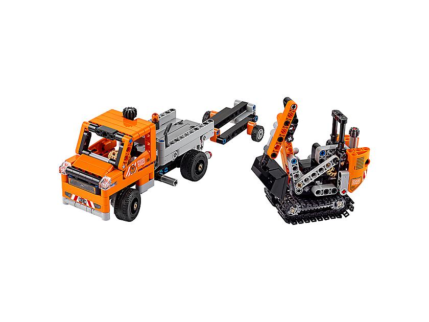 Straßenbau-Fahrzeuge
