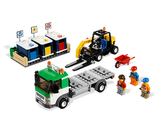 Recycling Truck 4206 City Lego Shop