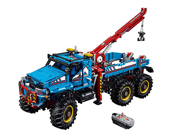 6x6 all terrain tow truck 42070 technic lego shop. Black Bedroom Furniture Sets. Home Design Ideas