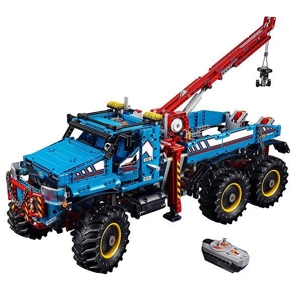 6x6 All Terrain Tow Truck 42070 Technic Lego Shop