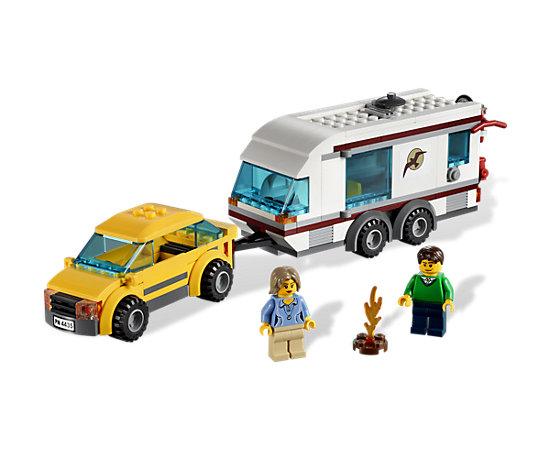 car and caravan 4435 city lego shop. Black Bedroom Furniture Sets. Home Design Ideas