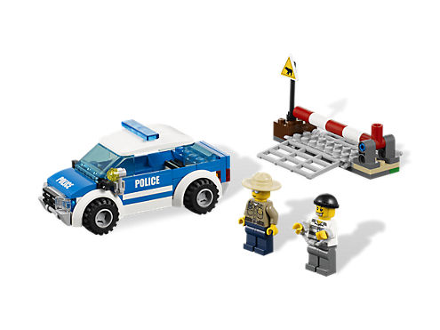 Lego City Police Car Instructions 7286 46243 Infobit