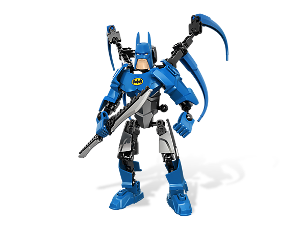 <p>Build a customizable and fully poseable <i>Dark Knight</i> to punish the villains of <i>Gotham City</i> with a powered-up suit and sword!</p>