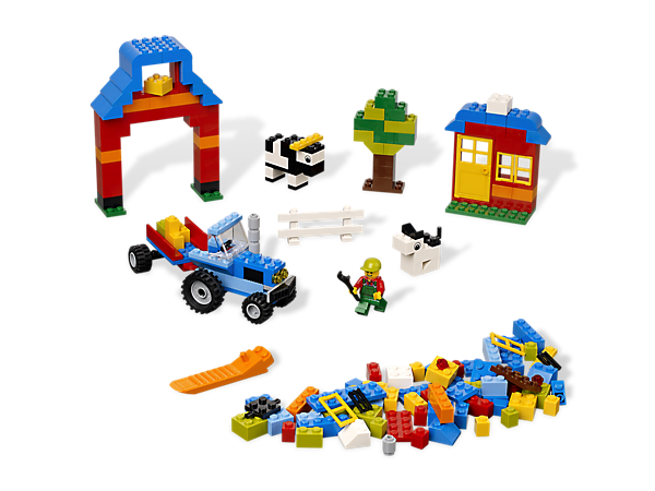 Create some building fun down on the farm with elements and inspiration for making your country creations come to life!