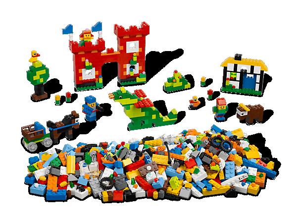 Das LEGO® Starter Set eignet sich hervorragend für erste Bauversuche und verfügt über 1.000 bunte Elemente und unzählige besondere Merkmale!