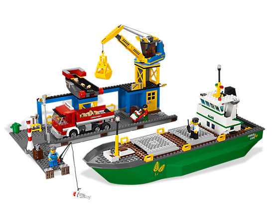 Harbor 4645 city lego shop - Comment faire une ville lego city ...