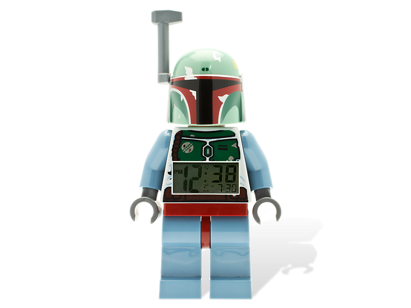 Lego® Star Wars  Boba Fett Minifigure Clock