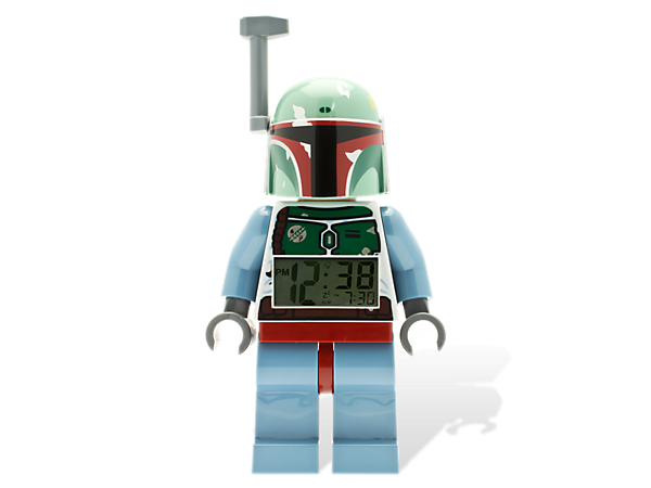 <p>Wake up to Boba Fett, the fiercest bounty hunter in the <i>Star Wars</i>™ universe, sounding your alarm and never fear oversleeping again!</p>