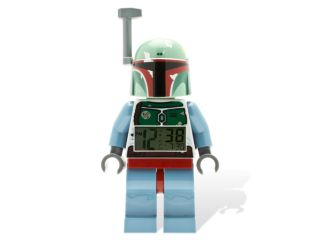 LEGO® <i>Star Wars</i>™ Boba Fett™ Minifigure Clock