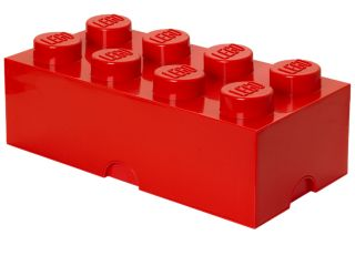LEGO® 8-stud Red Storage Brick