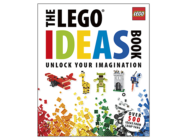 Get building with more than 500 fan-submitted building ideas in a colorful book featuring LEGO® brick-based creation inspiration!