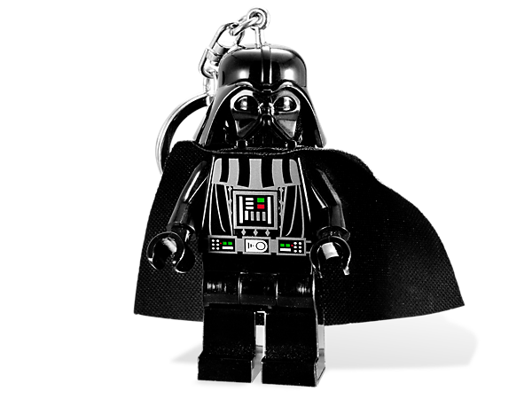 <p>Brighten up the dark side with an oversized LEGO® <i>Star Wars</i>™ Darth Vader™ minifigure featuring 2 LED lights with push-button activation!</p>