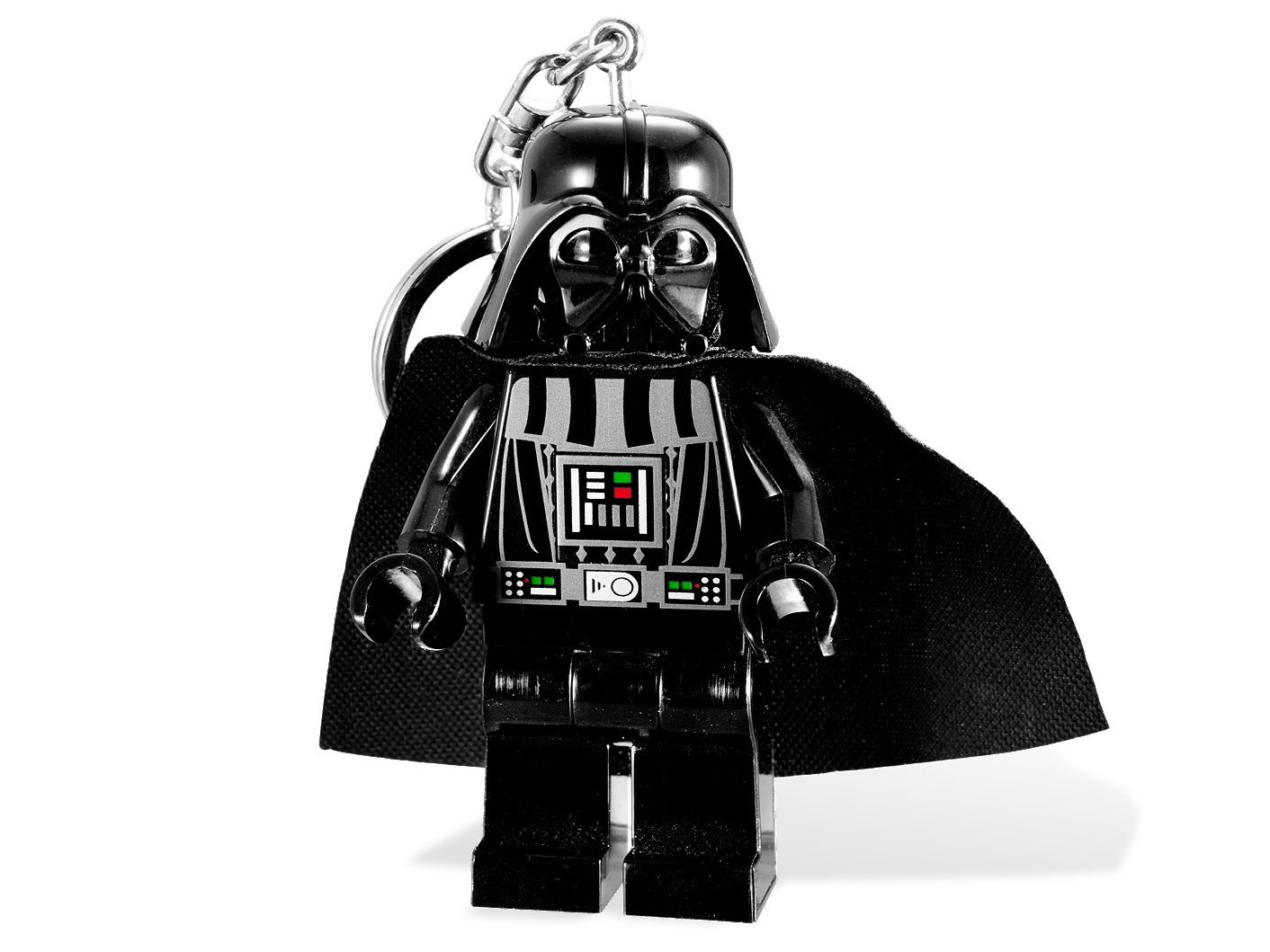 LEGO STAR WARS-NYCKELRING MED DARTH VADER OCH LAMPA