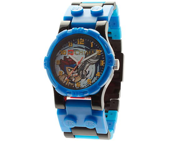 Build and customize a LEGO® Legends of Chima™ Lennox Kid's Minifigure Watch with an authentic Lennox minifigure!