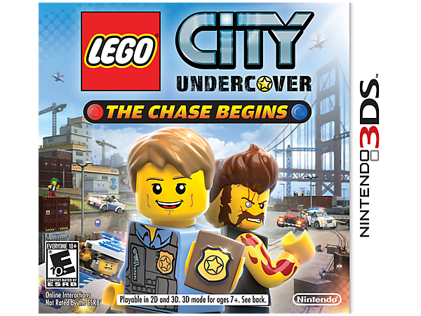 Go undercover for a Nintendo 3DS™ adventure in LEGO® City starring Officer Chase McCain with missions, disguises, special abilities and so many bad guys to catch!