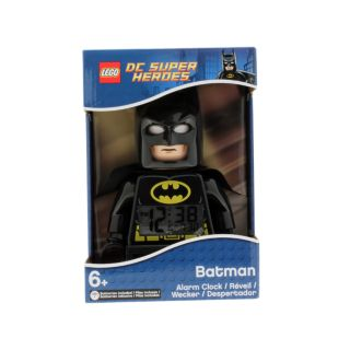 LEGO® DC Comics™ Super Heroes Batman™ Minifigure Clock